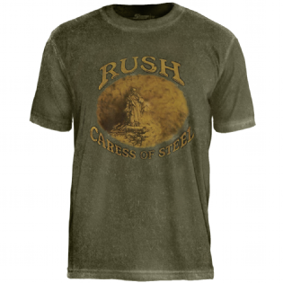 Camiseta Especial Rush Caress Of Steel