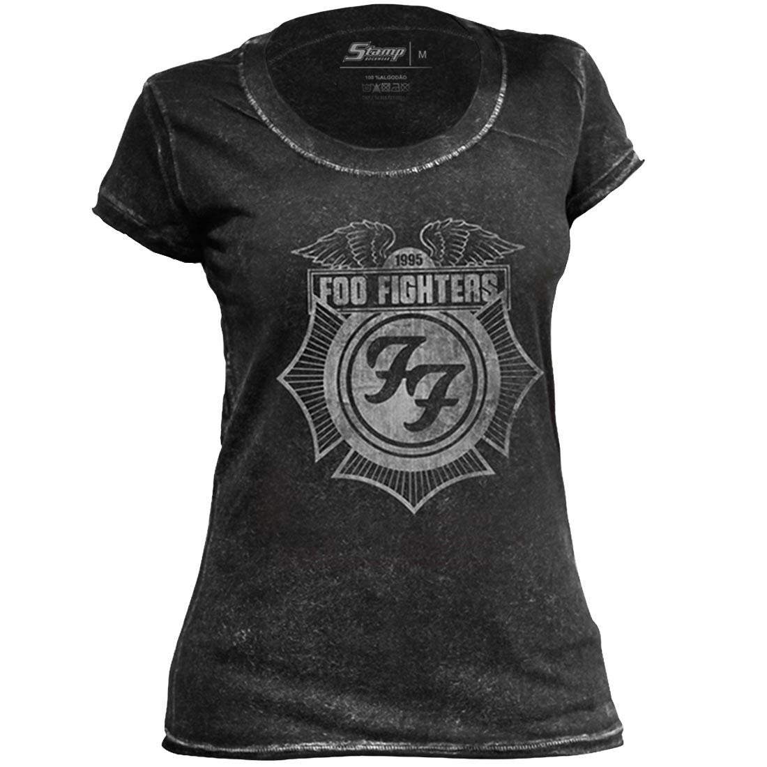 Camiseta Feminina Especial Foo Fighters