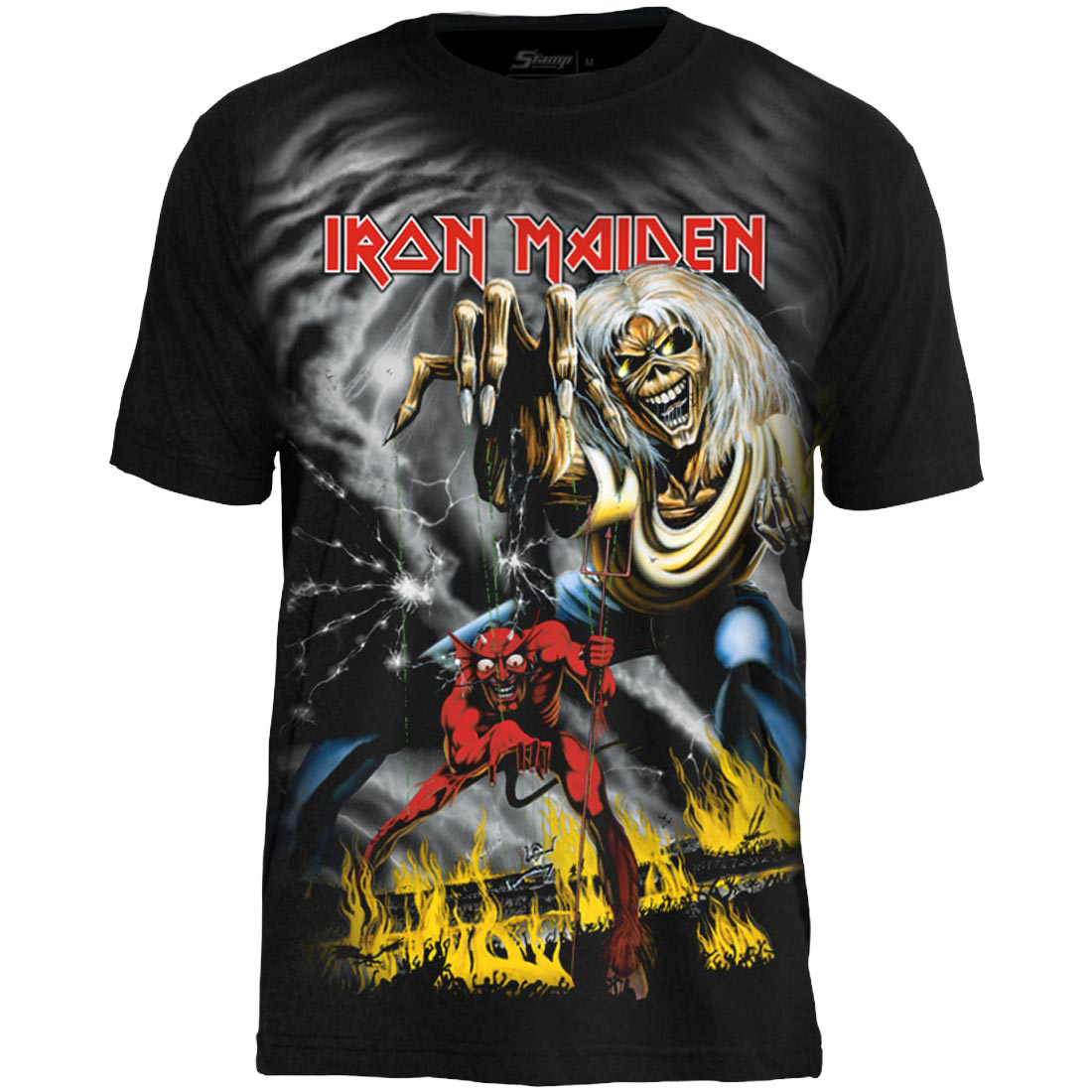 Camiseta Premium Iron Maiden - The Number Of The Beast