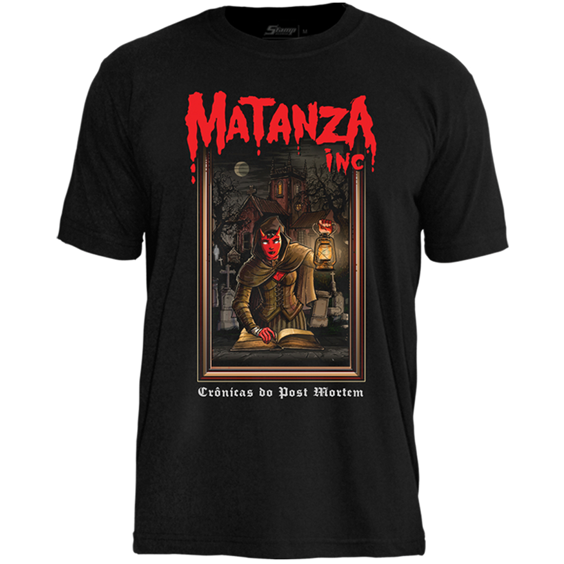 Camiseta Matanza Crônicas do Post Mortem