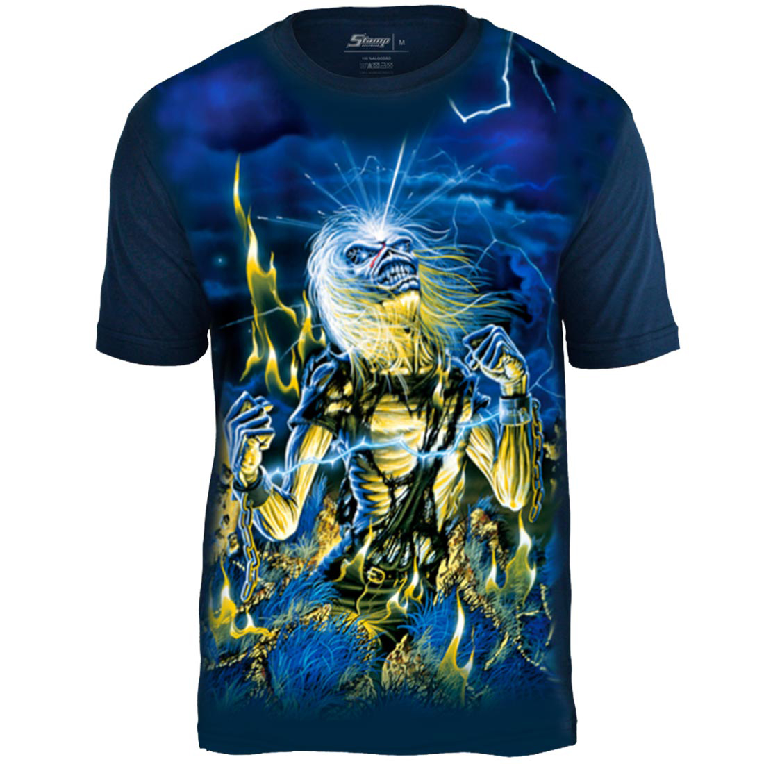 Camiseta Premium Iron Maiden Live After Death