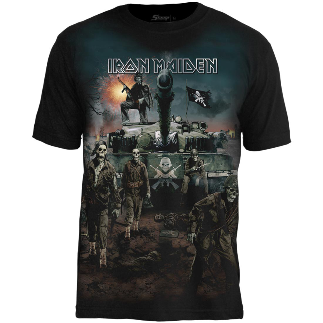 Camiseta Premium Iron Maiden A Matter of Live and Death