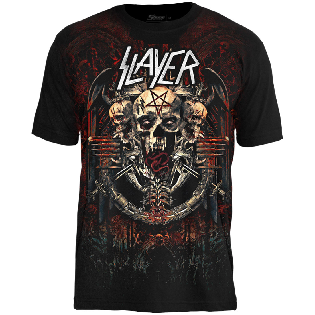 Camiseta Premium Slayer The End is Near