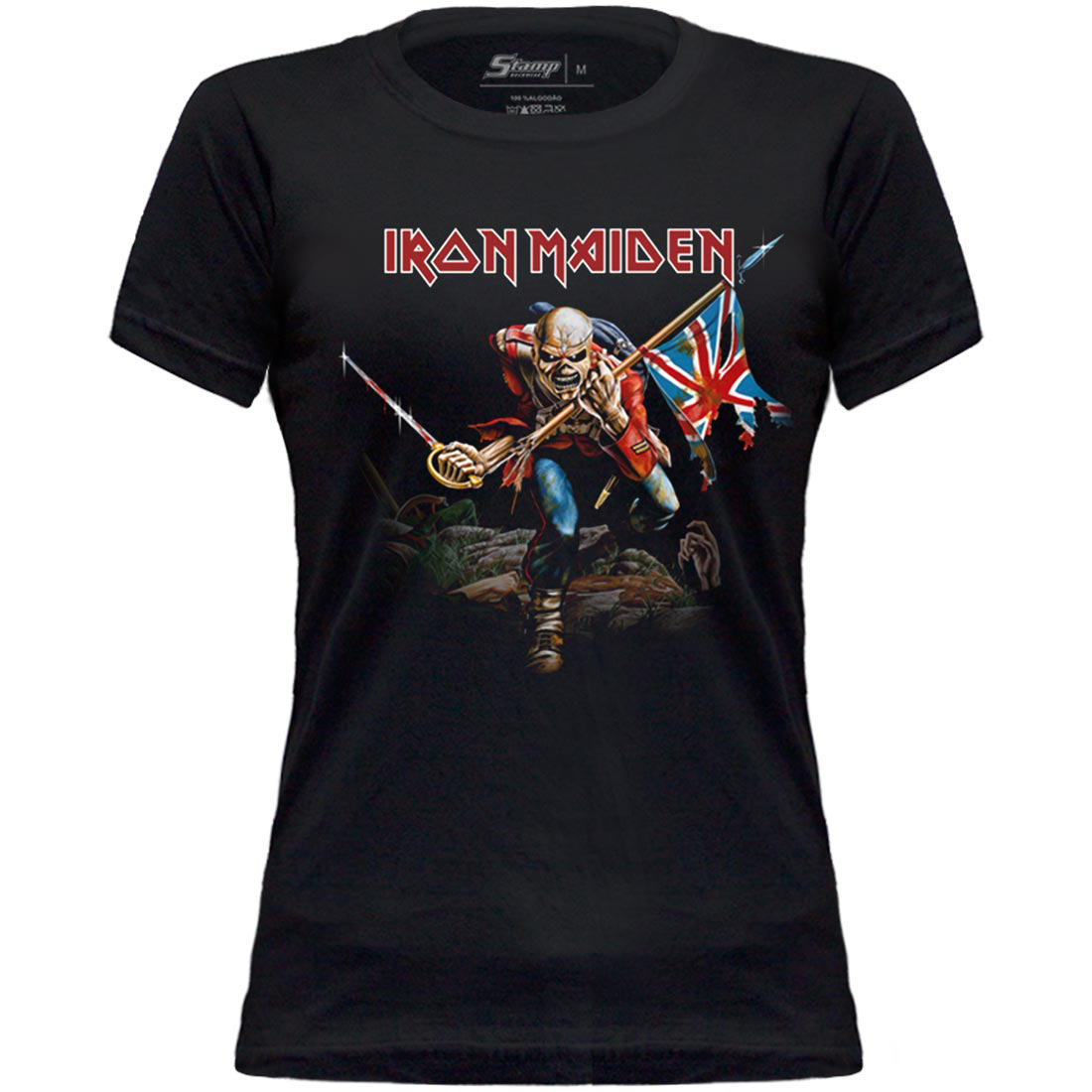 Baby Look Iron Maiden The Trooper