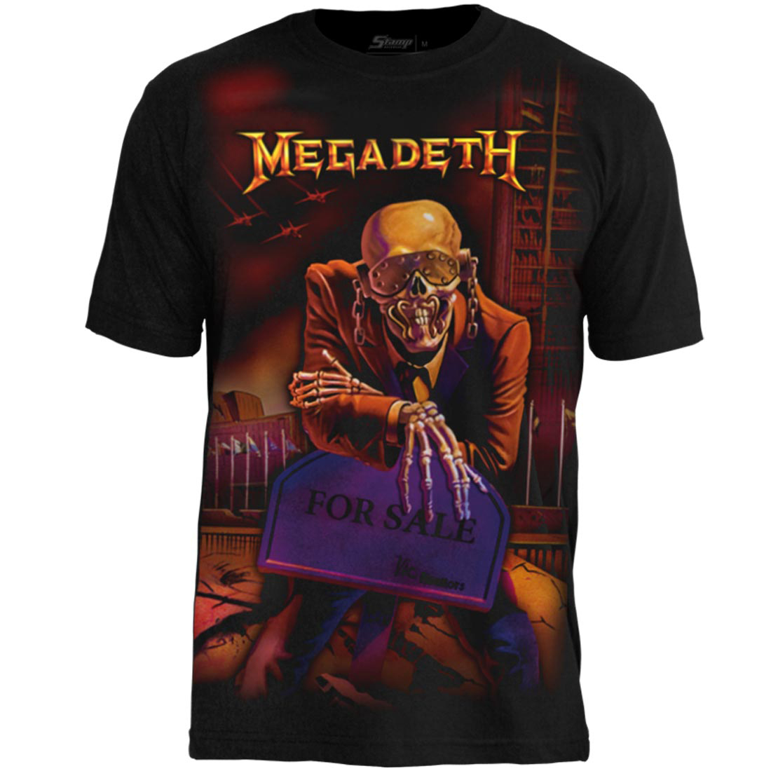 Camiseta Premium Megadeth Peace Sells... But Who's Buying?