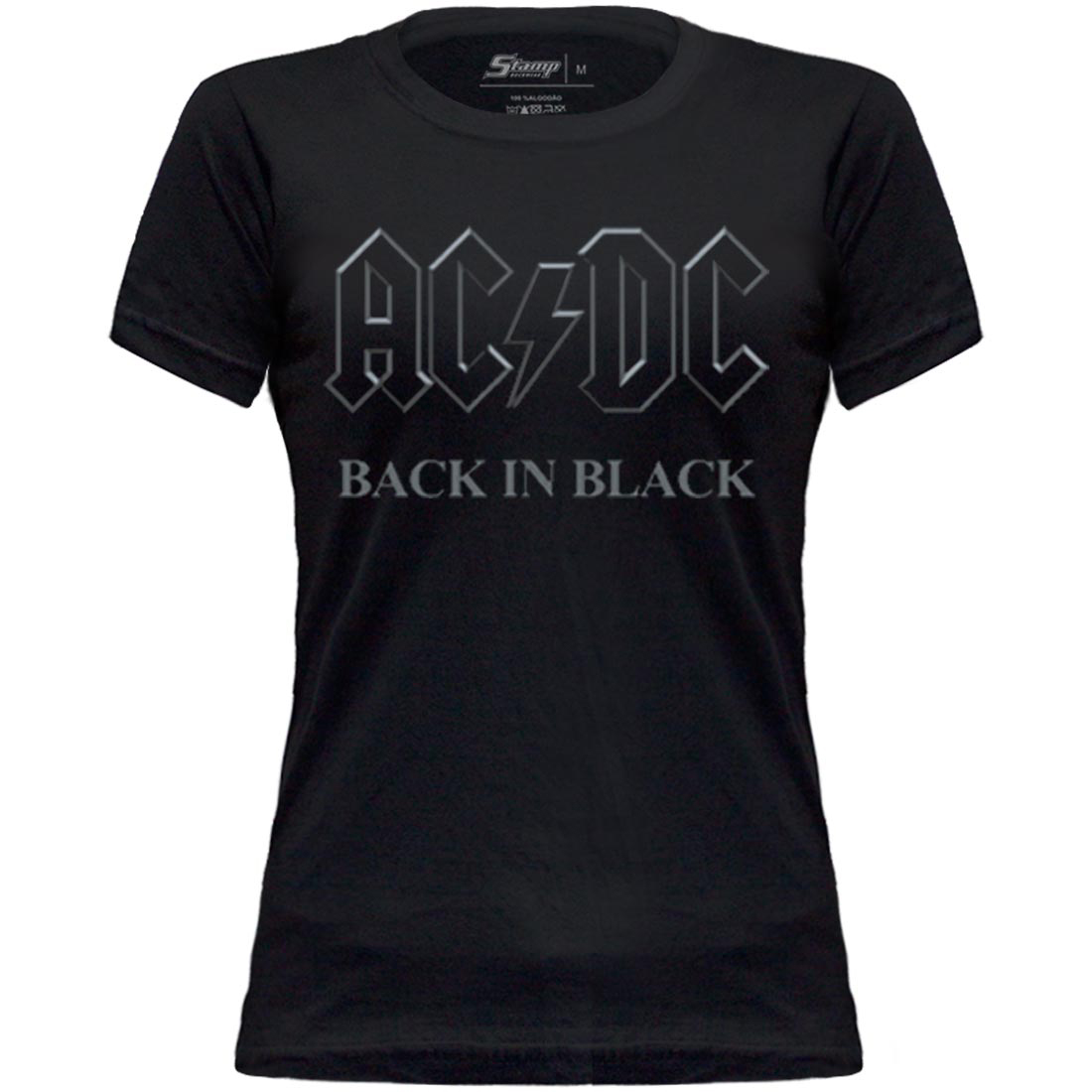 Baby Look AC/DC Back In Black