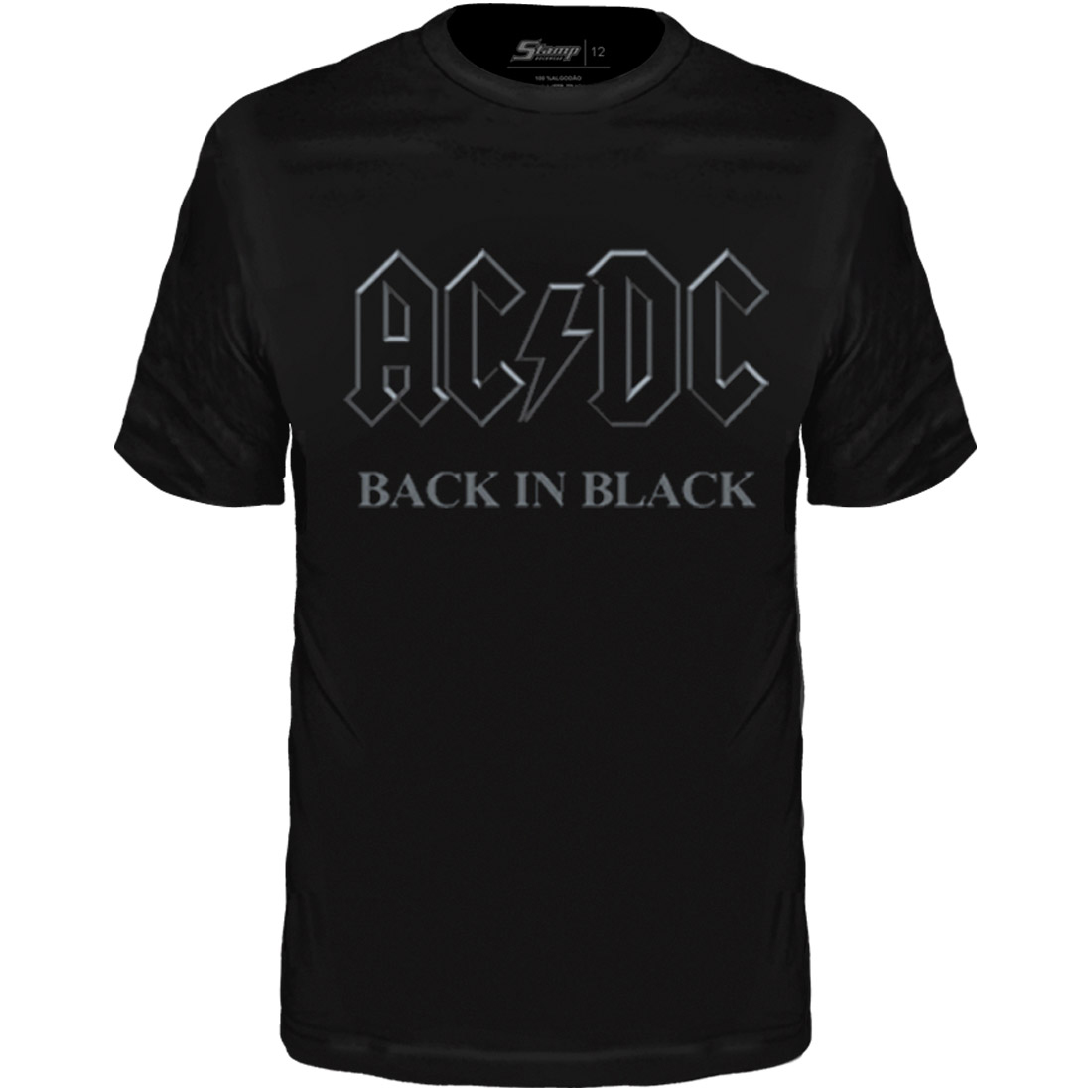 Camiseta Infantil AC/DC Back in Black