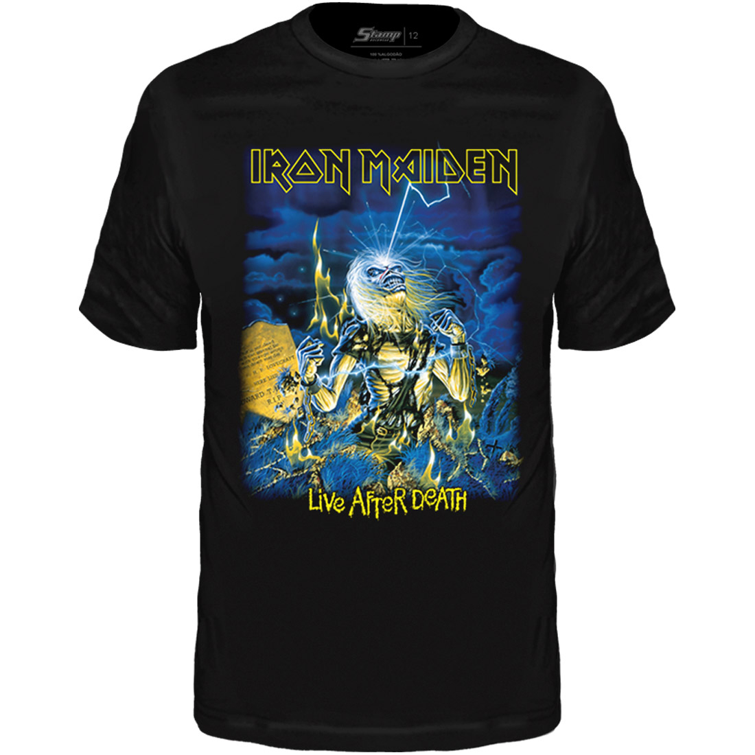 Camiseta Infantil Iron Maiden Live After Death