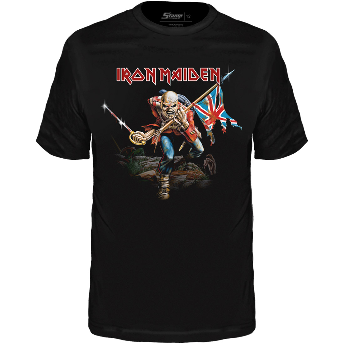 Camiseta Infantil Iron Maiden The Trooper