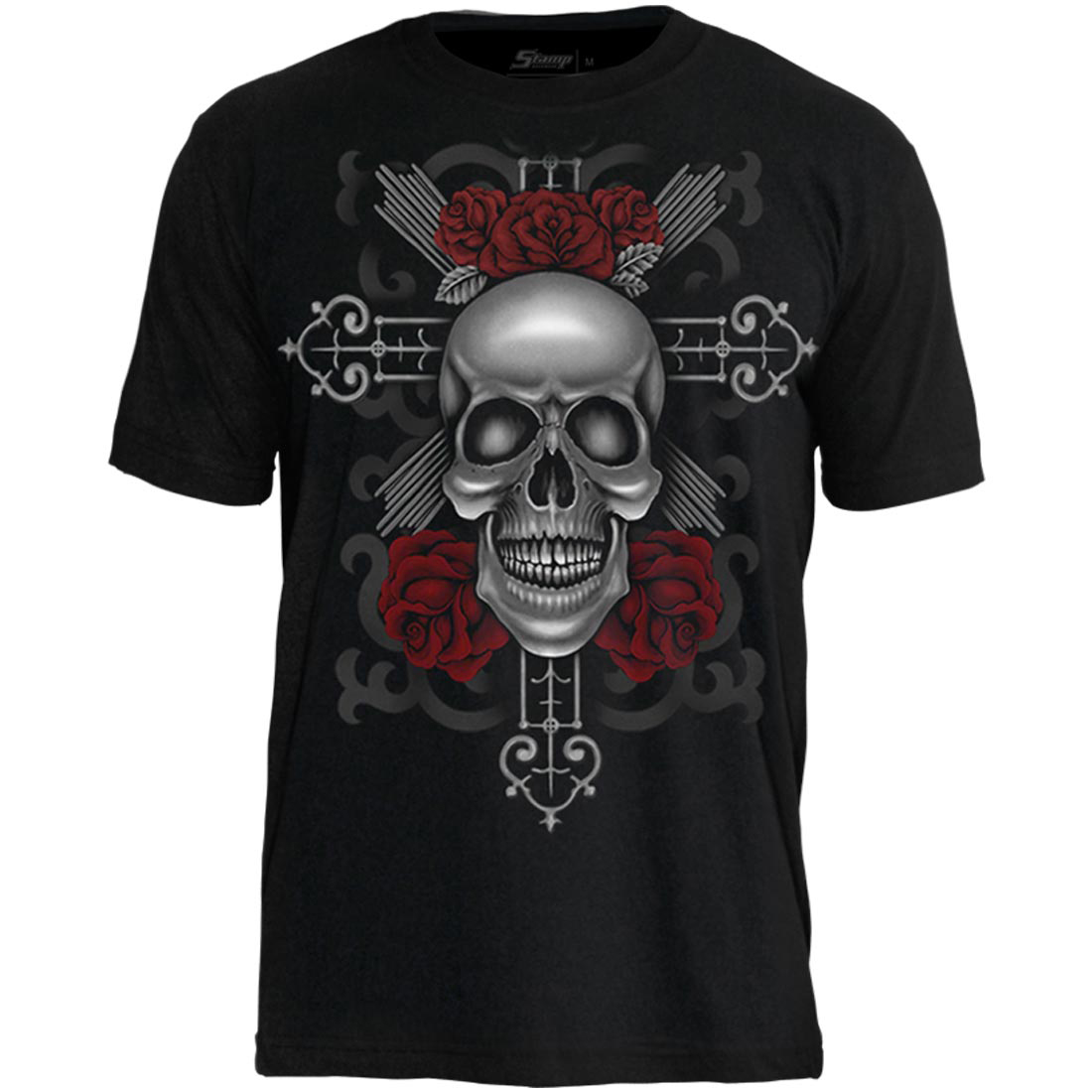 Camiseta Tattoo Skull With Cross