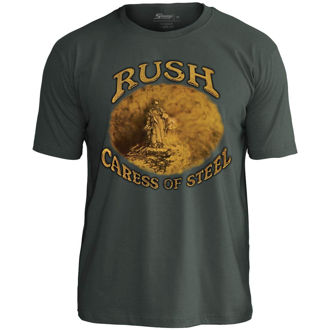 Camiseta Rush Caress Of Steel