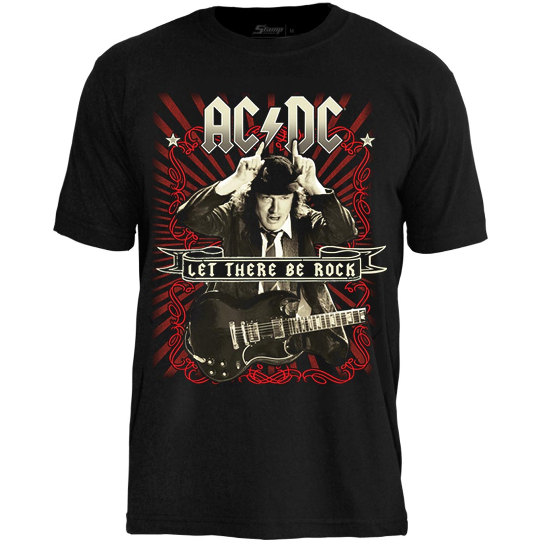 Camiseta AC/DC Let There Be Rock