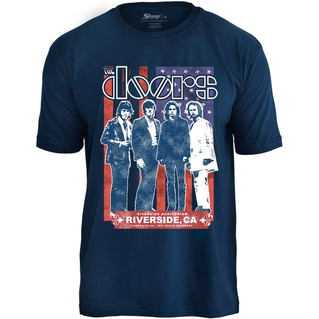Camiseta The Doors Riverside Auditorium