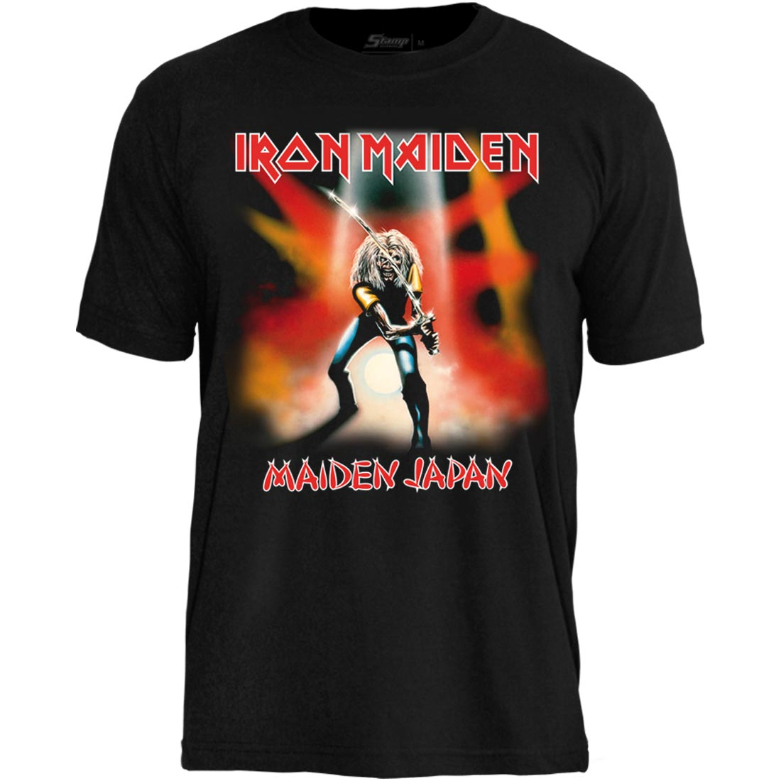 Camiseta Iron Maiden Maiden In Japan