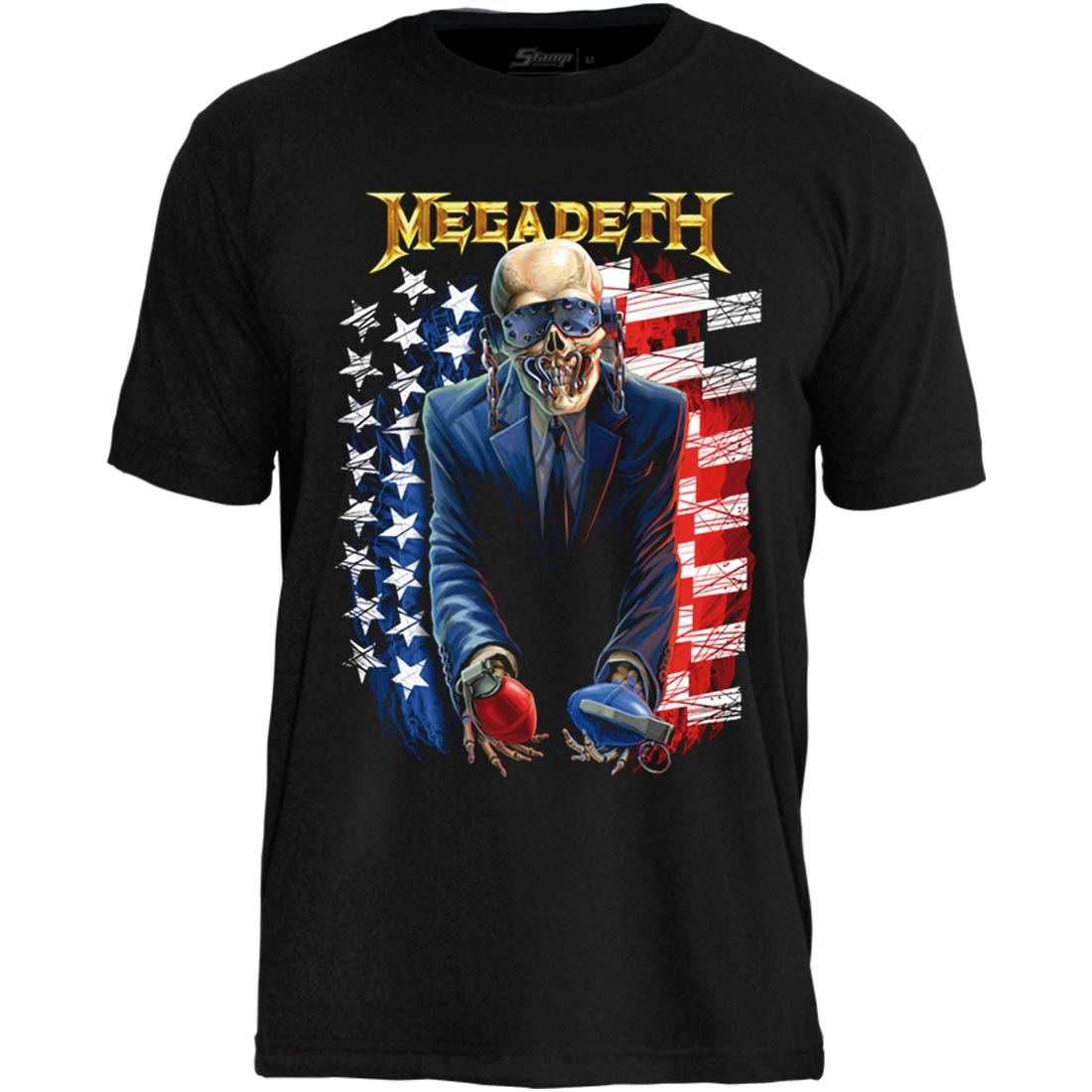 Camiseta Megadeth United Vic Itin