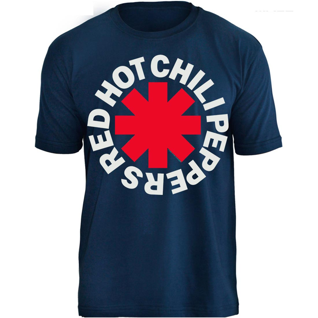 Camiseta Red Hot Chili Peppers - Azul