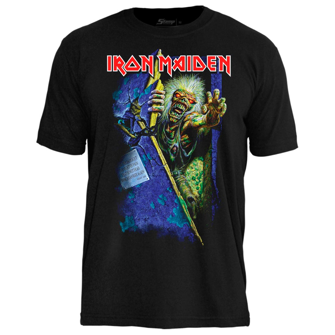 Camiseta Iron Maiden No Prayer For The Dying