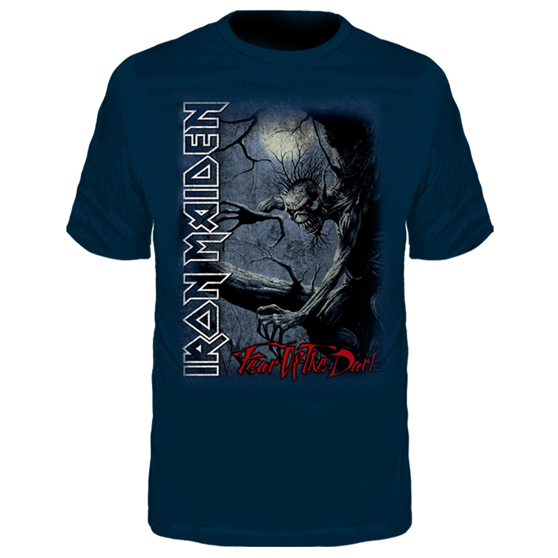Camiseta Infantil Iron Maiden Fear Of The Dark