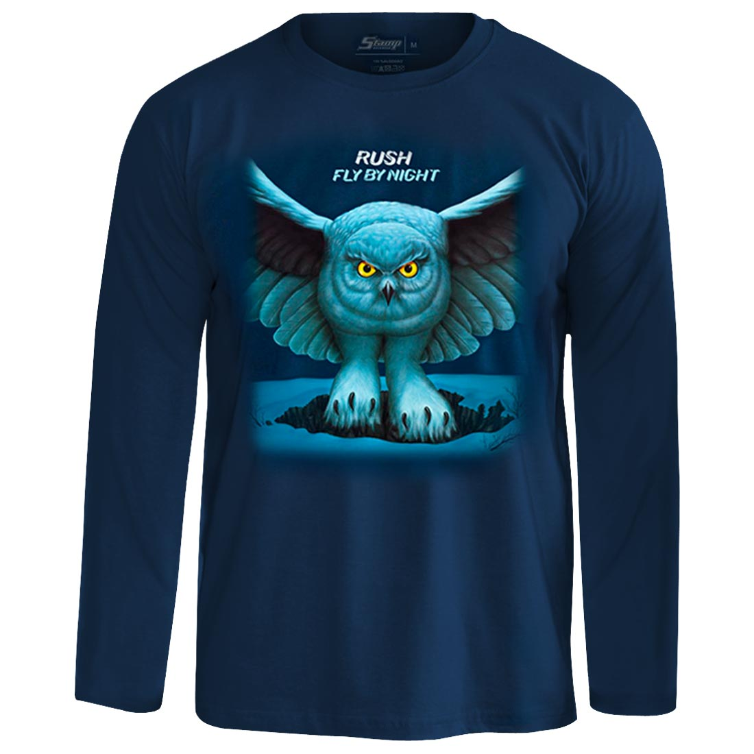Camiseta Manga Longa Rush Fly By Night