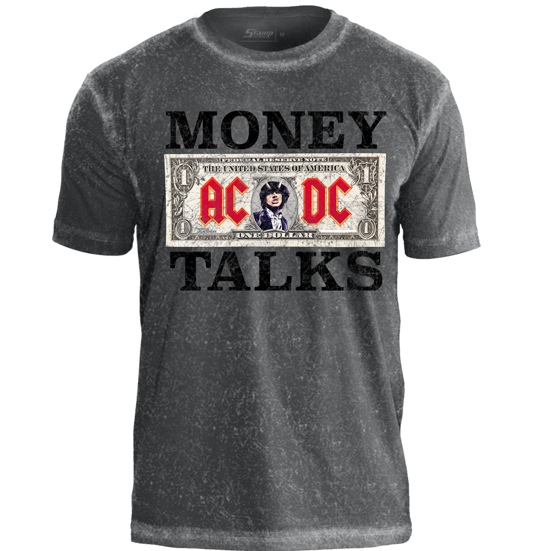 Camiseta Especial AC/DC Money Talks