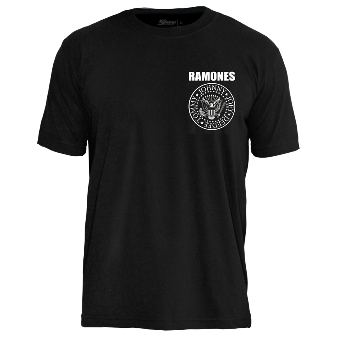 Camiseta PC Ramones Hey Ho Lets Go