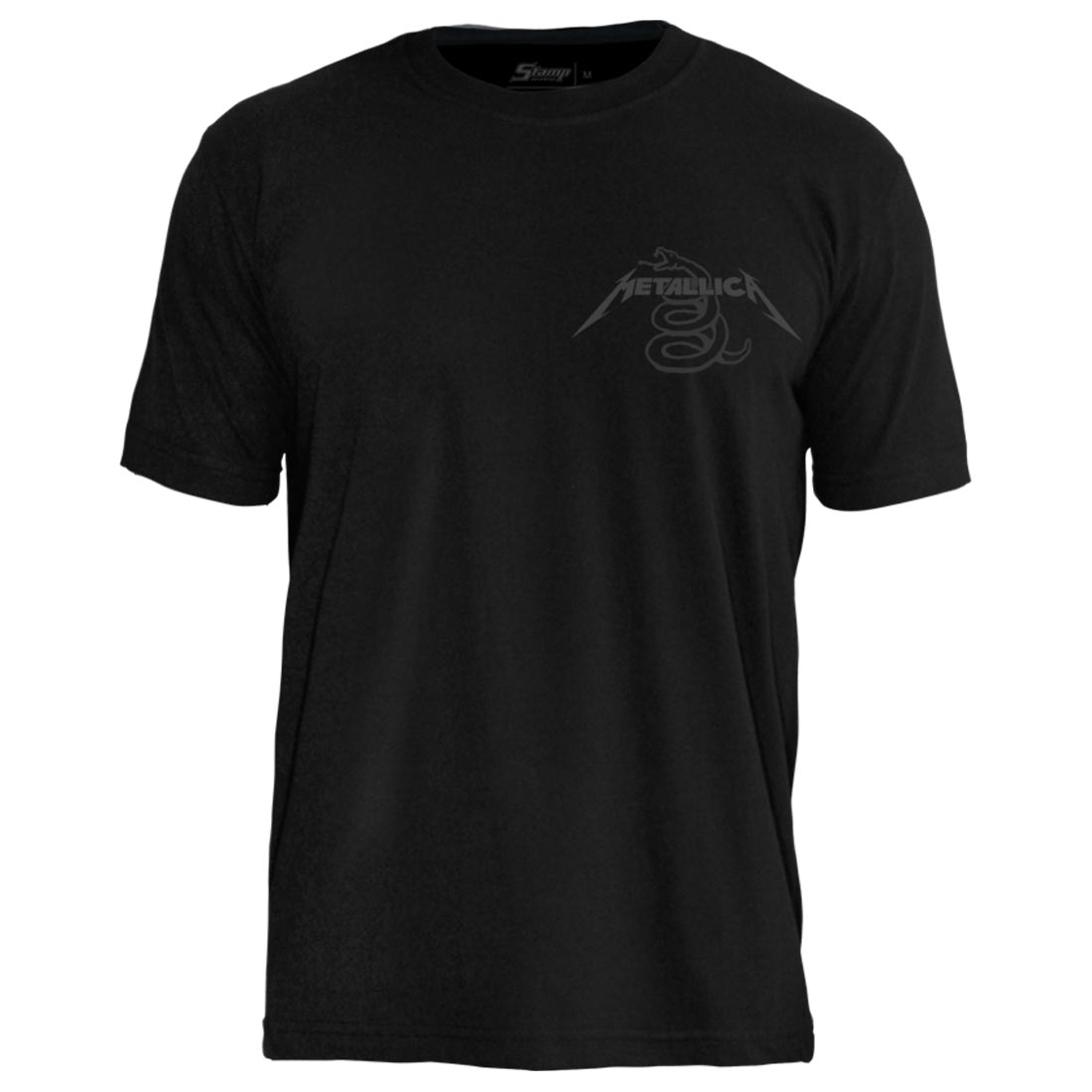 Camiseta PC Metallica Black Album