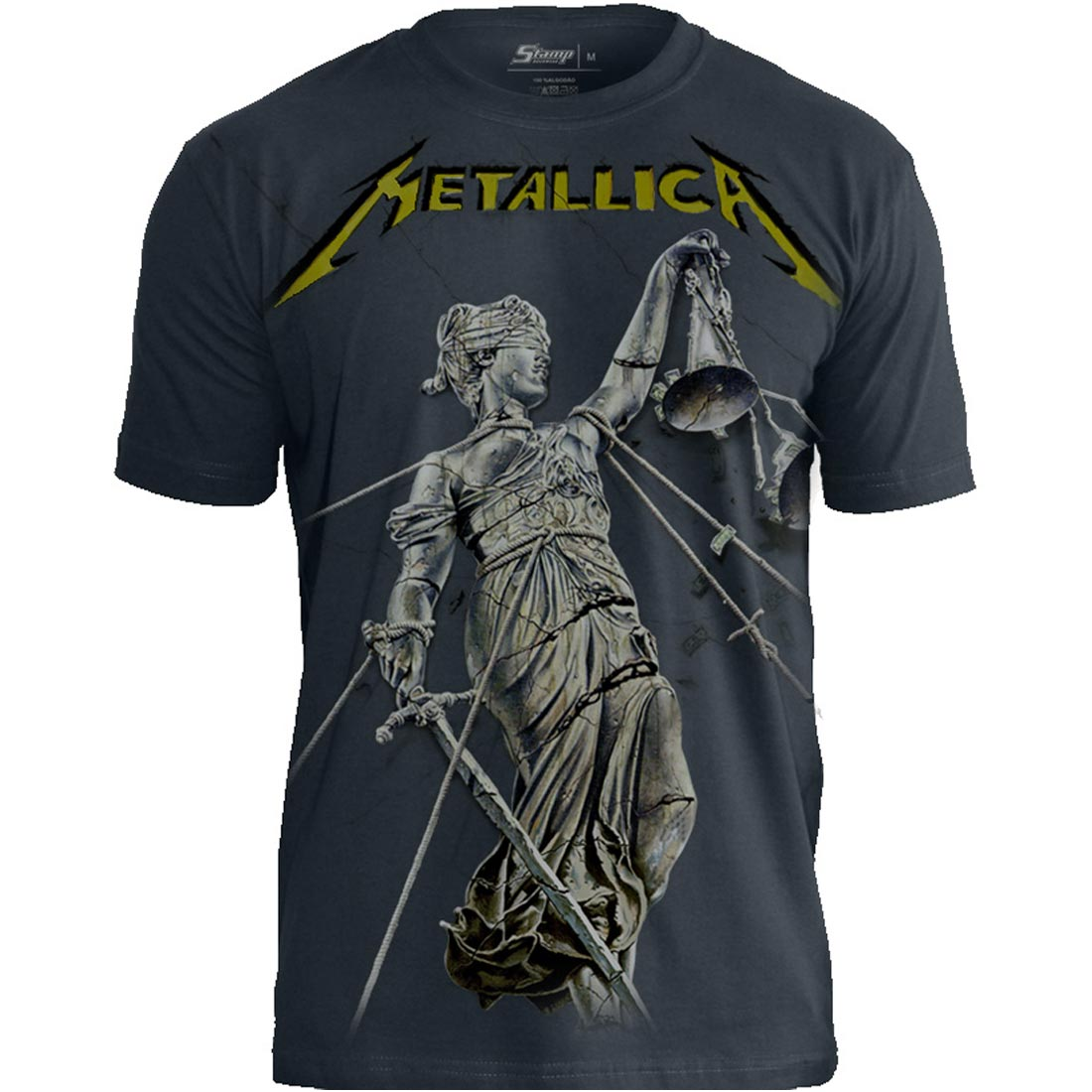 Camiseta Premium  Metallica And Justice For All