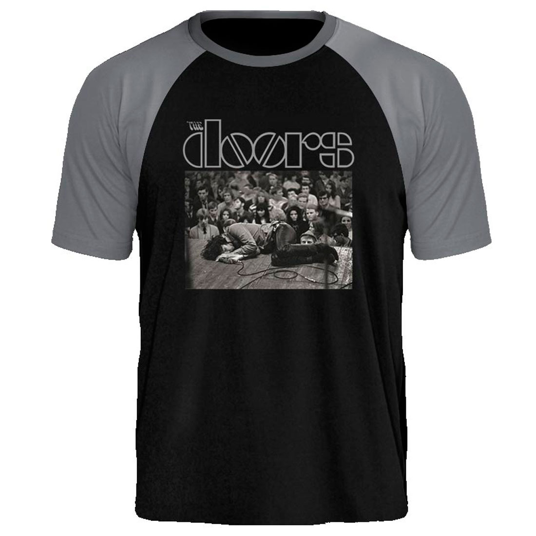 Camiseta Raglan The Doors  Exthauted