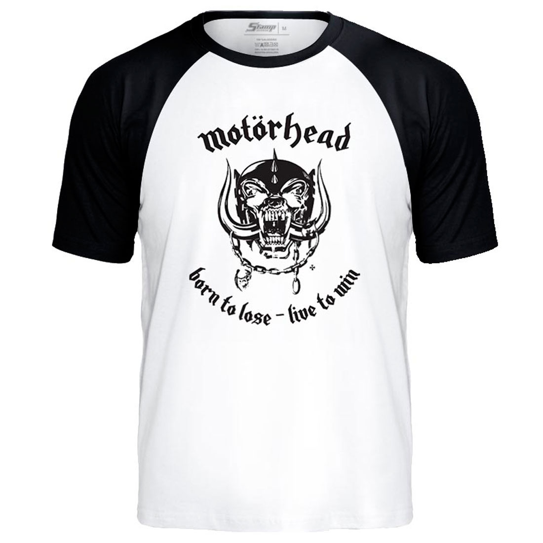 Camiseta Raglan  Motorhead Born to Lose, Live to Win