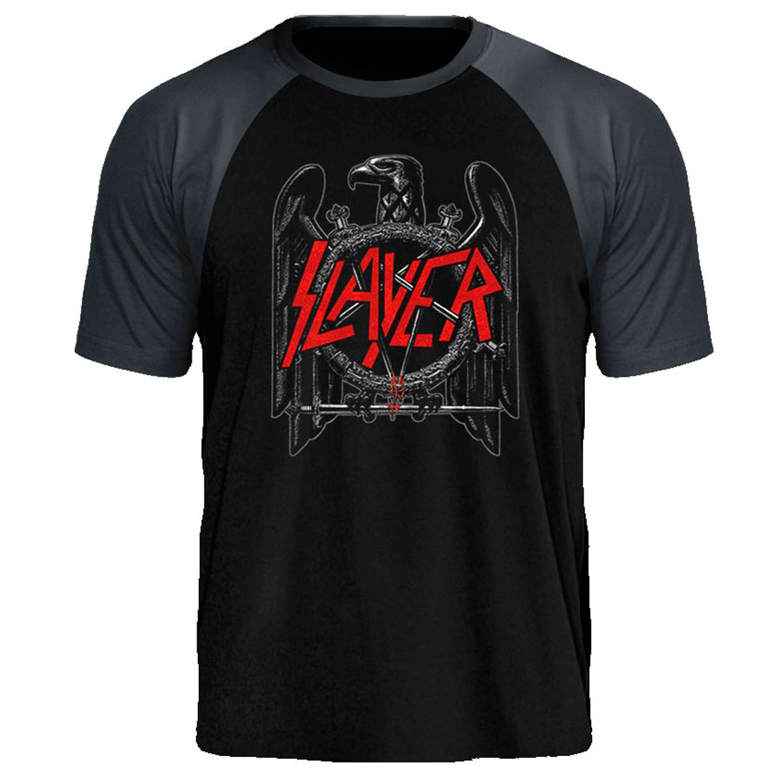 Camiseta Raglan Slayer EagleTee