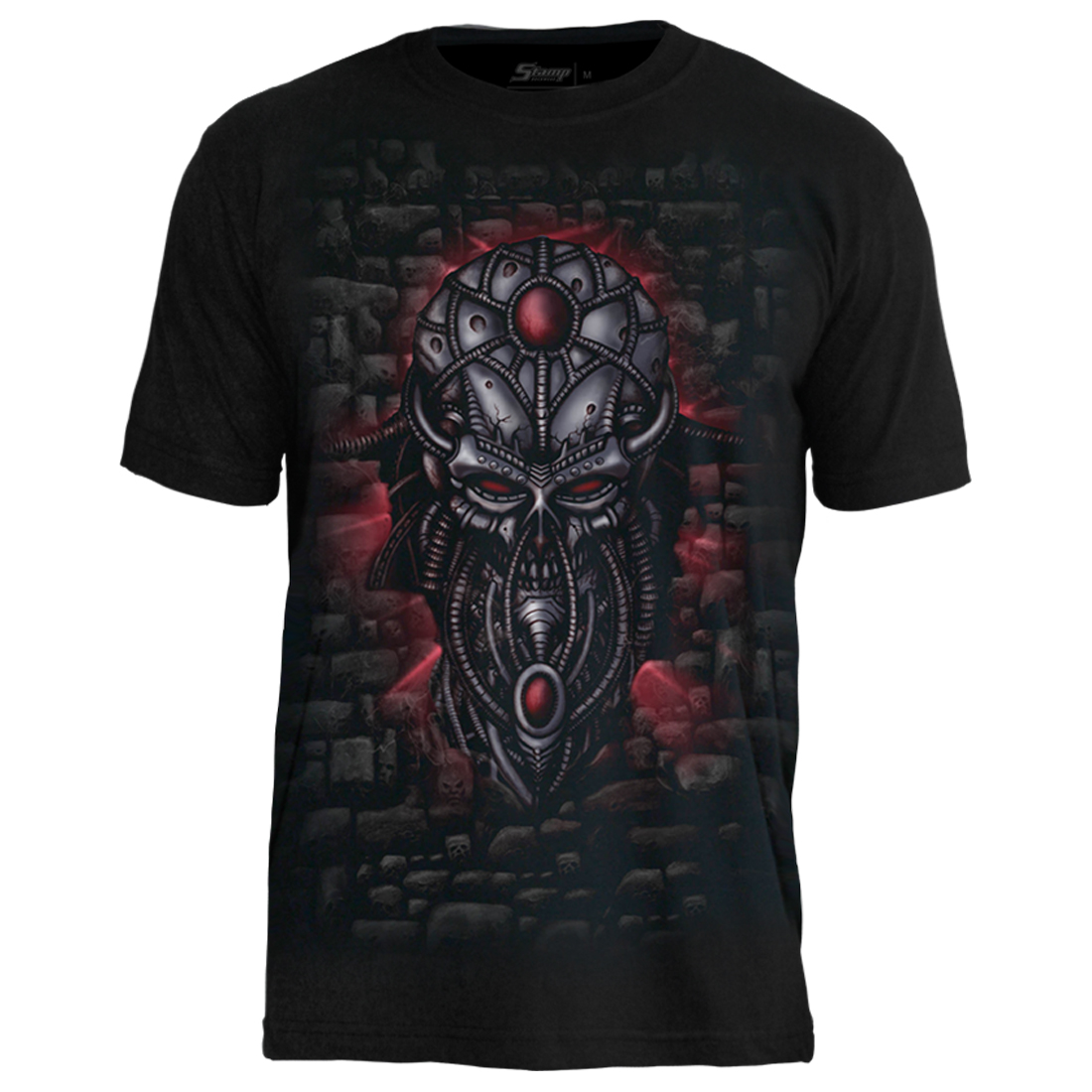 Camiseta Metal Alien