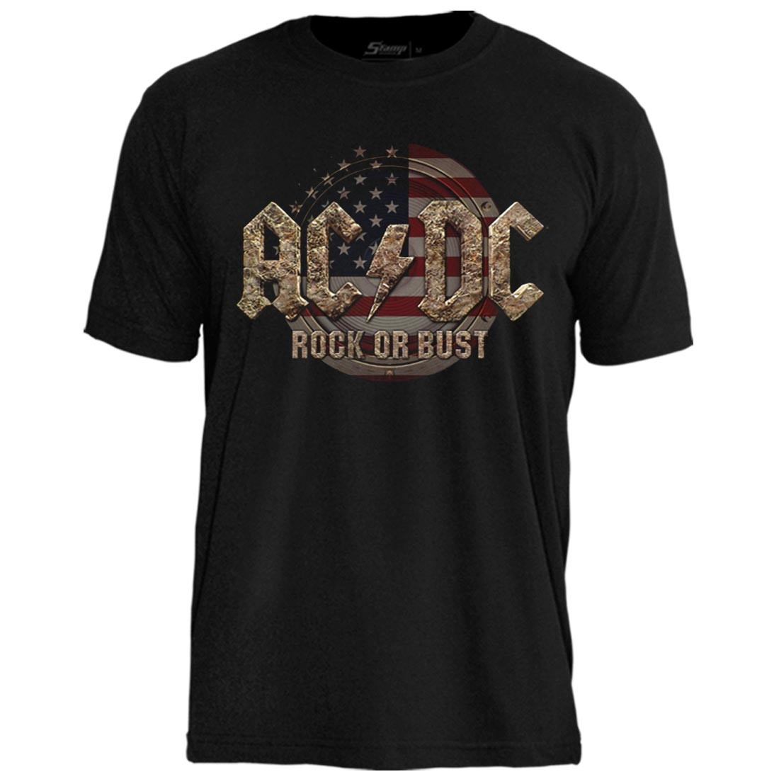 Camiseta AC/DC Rock Or Bust Flag