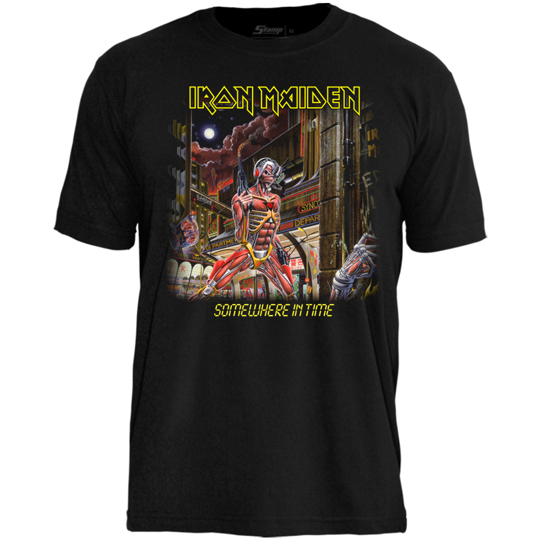 Camiseta Iron Maiden Somewere In Time