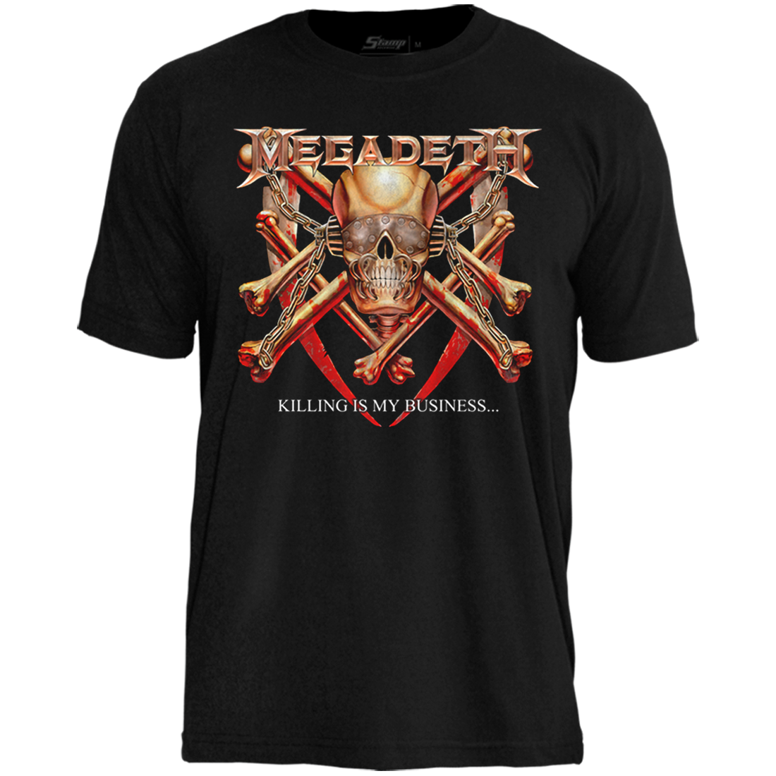 Camiseta Megadeth Killing Is My Business