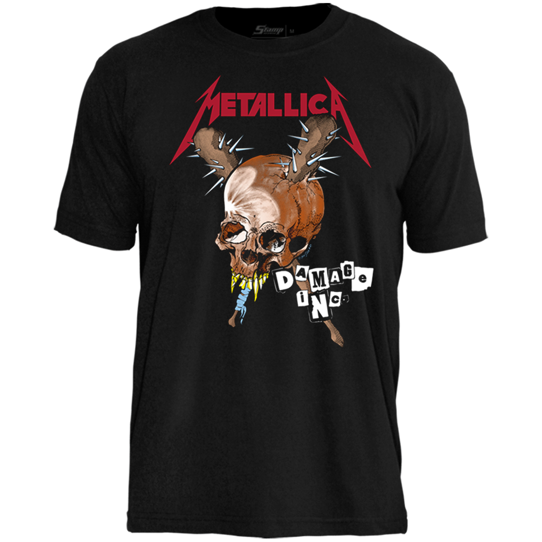 Camiseta Metallica Damage Inc