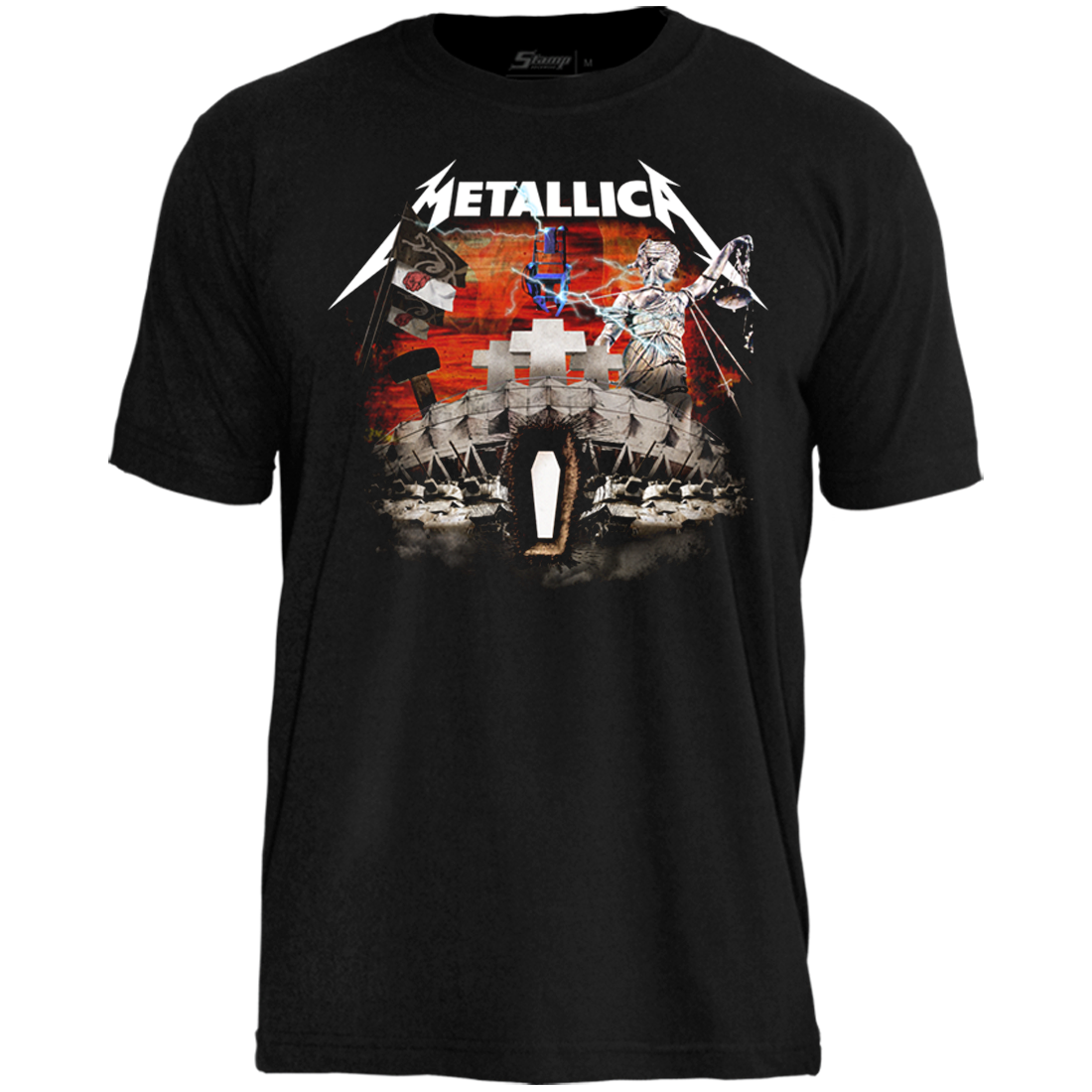 Camiseta Metallica El Arsenal Completo