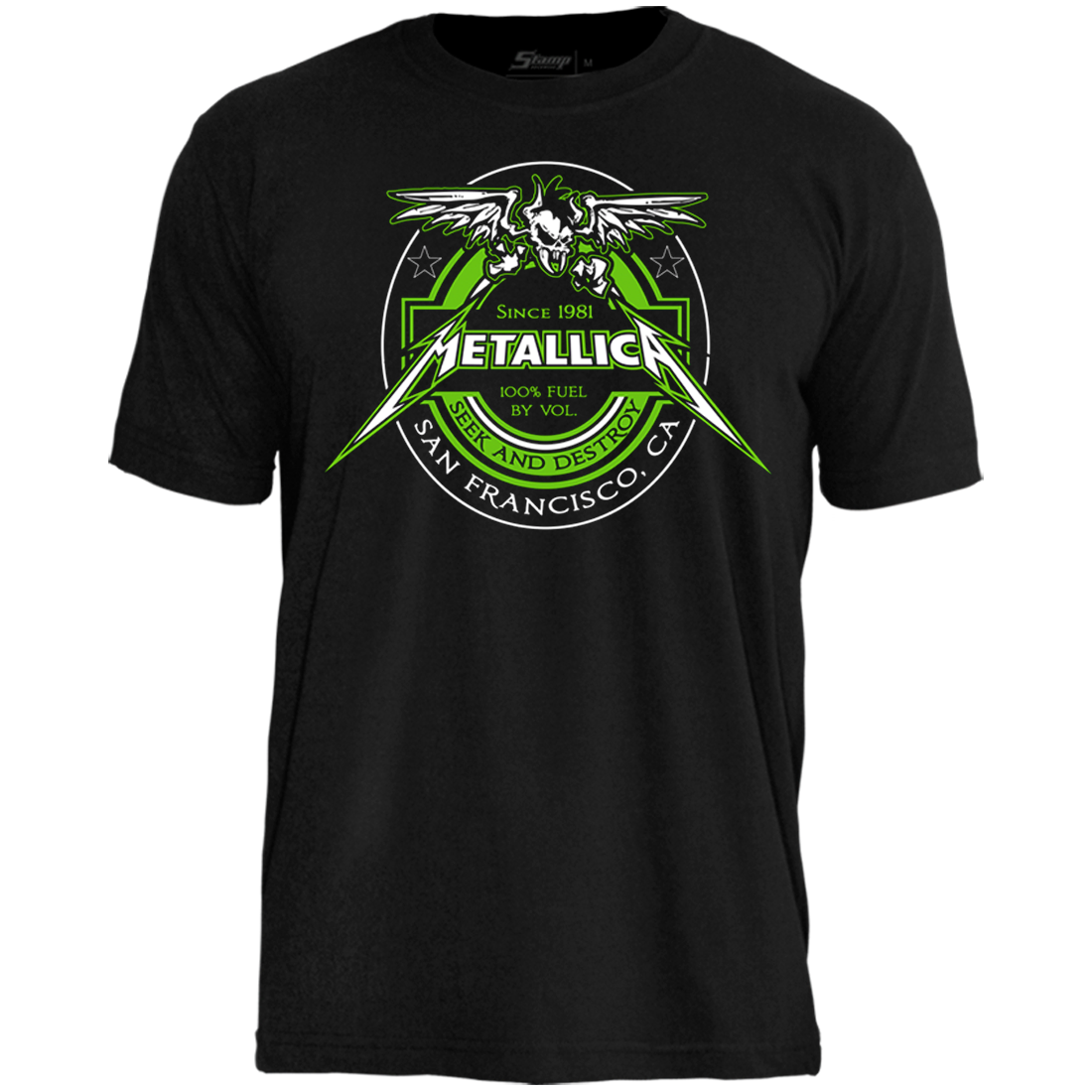 Camiseta Metallica Fuel