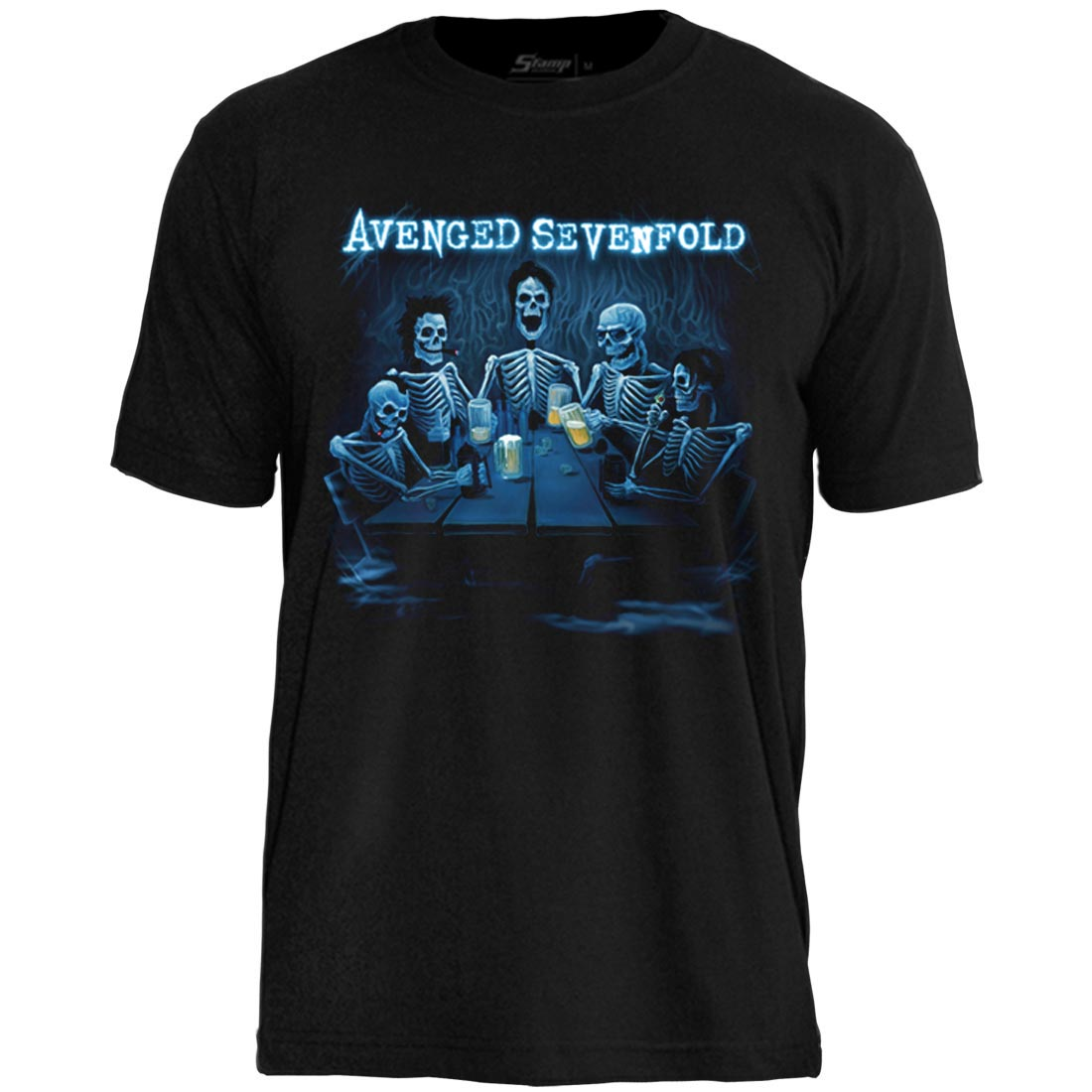 Camiseta  Avenged  Sevenfold Fold Welcome